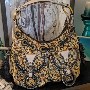 Isabella Fiore large Hobo Boho Bag Handbag Purse